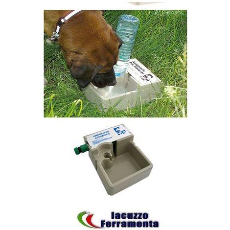 Abbeveratoio per cani gatti uccelli capacita lt 2 automatico in plastica