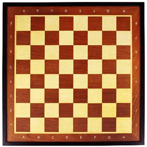 Abbey Game Chess Board Deluxe 41x41cm Wood