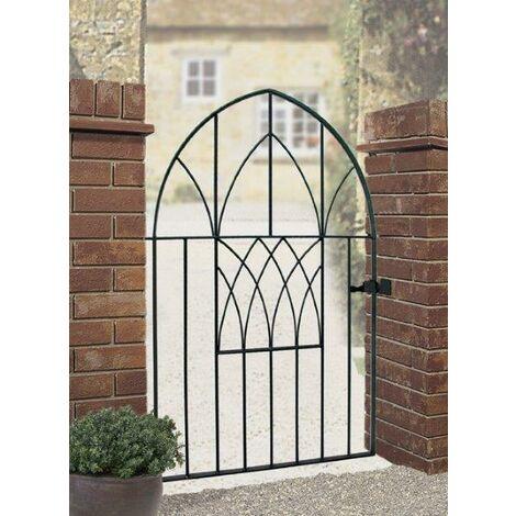 Abbey Low Bow Gate 1378mm High x 991mm Gap Zinc & Powder