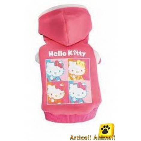 new product ed9e4 88f11 Abbigliamento cane felpa hello kitty portraits cm 20