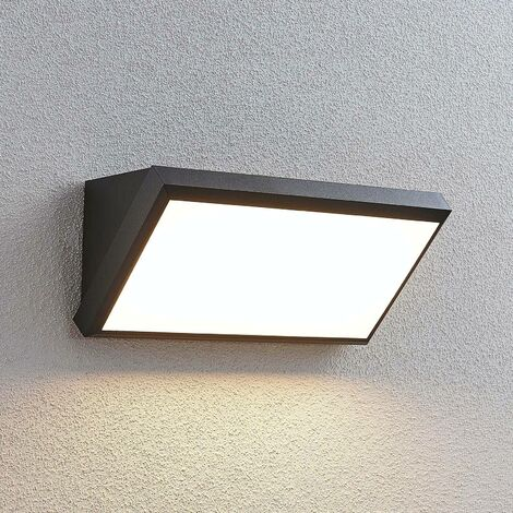 Abby LED outdoor wall light with sensor