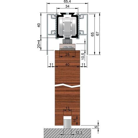 Abdeckkappenpaar Alu.EV1 elox.beids.B.65mm H.65mm HELM
