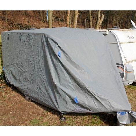 Abdeckplane Ganzgarage Schutzhülle für Wohnwagen