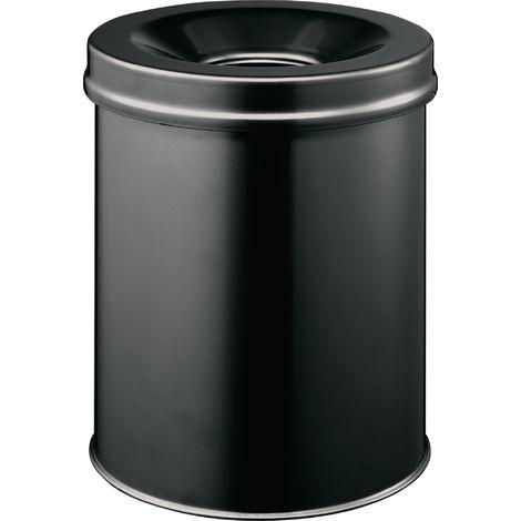 Abfallbehälter H357xØ260mm 15l schwarz DURABLE