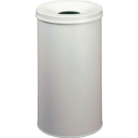Abfallbehälter H662xØ375mm 60l grau DURABLE