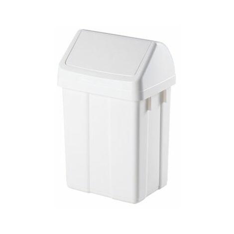 Abfallbehälter | HxBxT 40 x 20 x 24 cm | 12 Liter | Certeo Abfalltonne