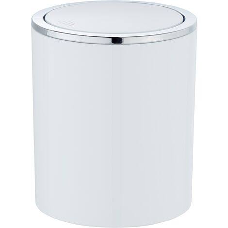 Abfalleimer 2L Kosmetikeimer Schwingdeckeleimer Mülleimer Inca Bad WC Küche Büro