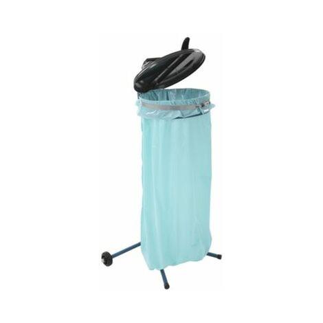 Abfallsackständer, mobil, blau Wandbefestigungen Müllsackständer Müllsackhalter