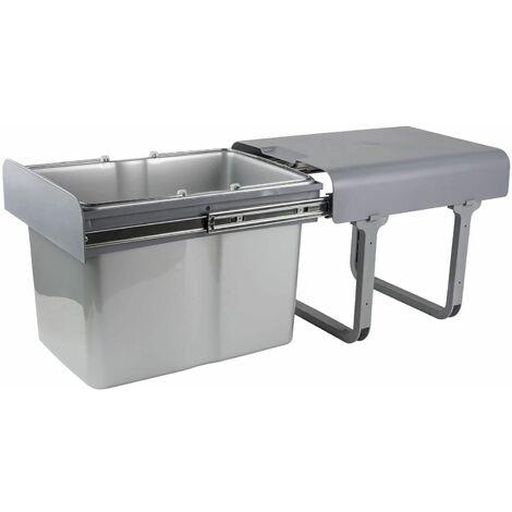 Abfallsammler Mülleimer Müllsammler 1x34 Ltr. Abfalleimer Abfallbehälter