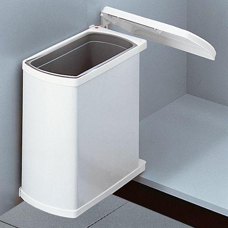 Abfallsammler Uno 18 L weiß Hailo 3418001