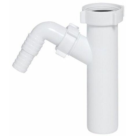 "Abflussrohranschluss für Abfallfalle 1 1/2"" x 40mm Eingang für Geschirrspüler"