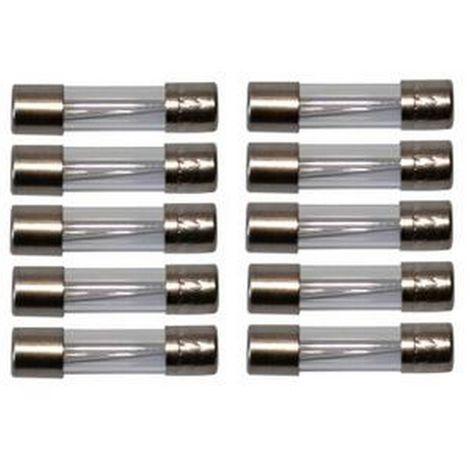 Abi HV1226 - Lote 10 5X20 500MA Fast fusibles
