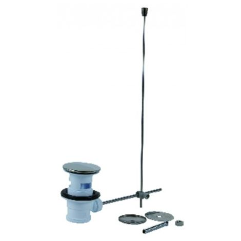 Ablauf waschtisch ablaufgarnitur mit zugstange nicoll for Waschtisch ablaufgarnitur
