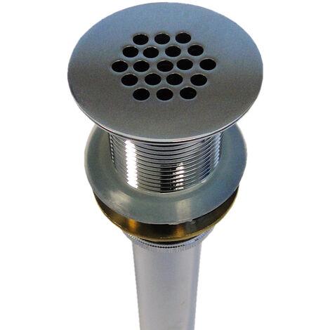 Ablaufgarnitur mit Sieb - ohne Pop-up-Funktion - passend für BERNSTEIN Waschbecken (TWA28, TWG06, TWG07, TWG08, TWG16, TWG21, TWZ29, PB2089, PB2078, PB2080, PB2155, PB2088)