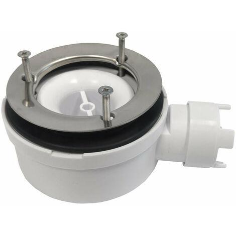 Ablaufventil extra flach horizontal Sanycces Ø90 mm Höhe 53 mm für Duschwannen