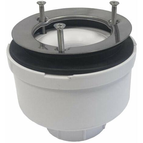 Ablaufventil vertikal Sanycces Ø90 mm Höhe 100 mm für Duschwannen