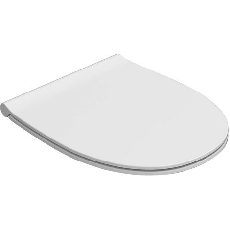 Abnehmbarer Duroplast-Toilettensitz 43.37,5 Globo 4ALL MD021BI-MD022