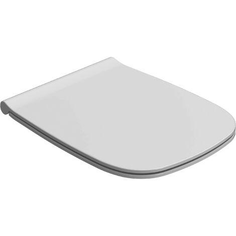 Abnehmbarer Duroplast-Toilettensitz 46,1.36 Globo Genesis GN019BI-GN020