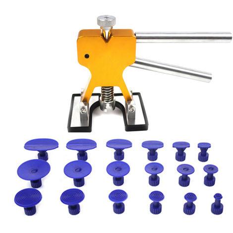 Abolladura sin herramientas adicionales Juego de reparacion Dent Lifter, Oro