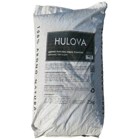 Abono 100% Orgánico (Sólido) 25 kg. Hulova -