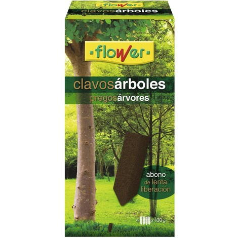 Abono Arboles 4 Clavos 100 G - FLOWER - 10870
