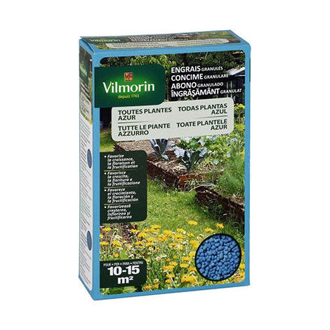 Abono azul granulado VILMORIN universal para todo tipo de plantas