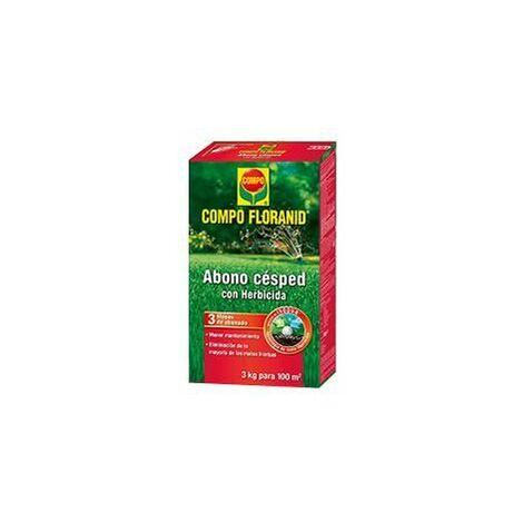Abono Césped Compo Floranid + Herbicida