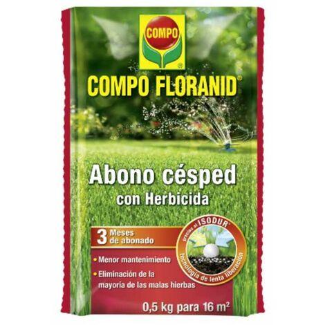 ABONO CESPED CON HERBICIDA 500 GRAMOS