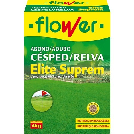 Abono Césped Elite Suprem Flower - 4 Kg