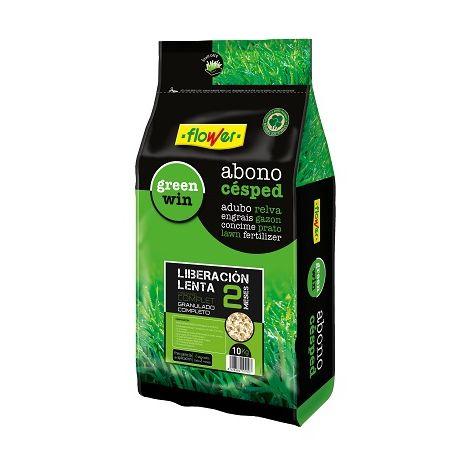 Abono Césped Organic Complet 2 Meses Liberación Lenta FLOWER - 10 Kg