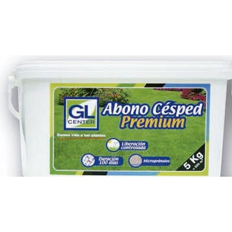 Abono cesped Premium 100 dias 5 Kg GL CENTER
