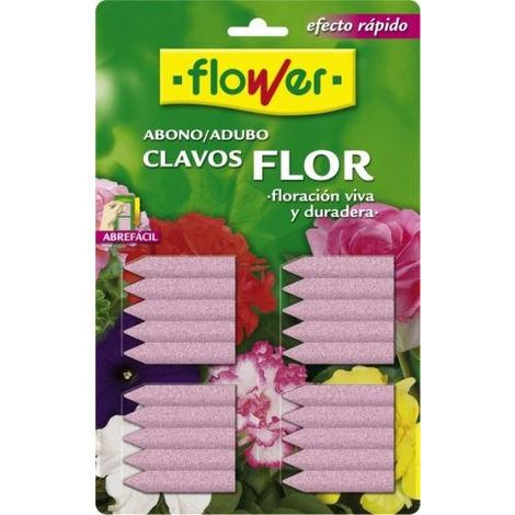 Abono clavos flower x20
