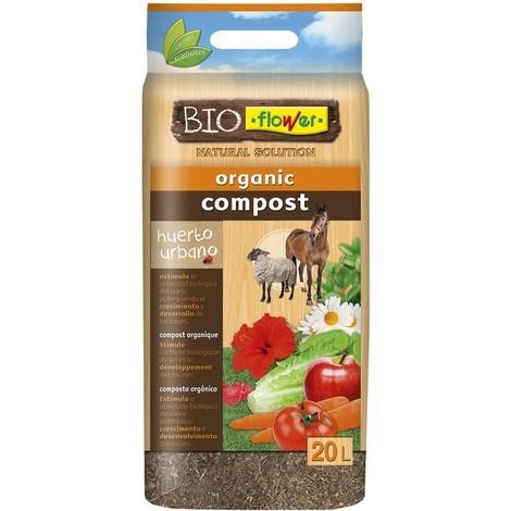 Abono compost orgánico