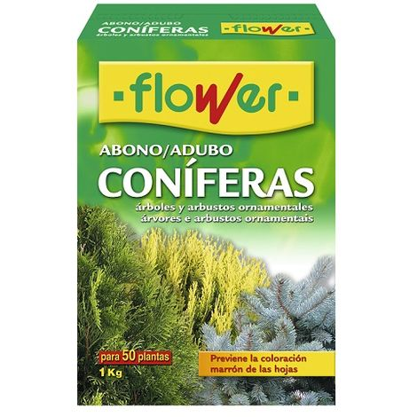 Abono Coníferas y Arbustos FLOWER - 1 Kg