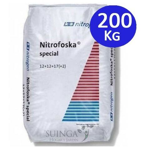 Abono Especial 200 Kg Nitrofoska 12+12+17+2