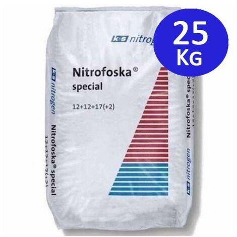 Abono Especial 25 Kg Nitrofoska 12+12+17+2