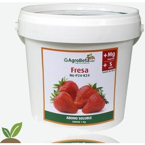 ABONO ESPECIAL FRESAS - SOLIDO 1 KG