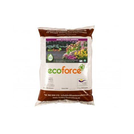 Abono - Fertilizante ecológico Universal de 25 Kg para Plantas de Interior y Exterior