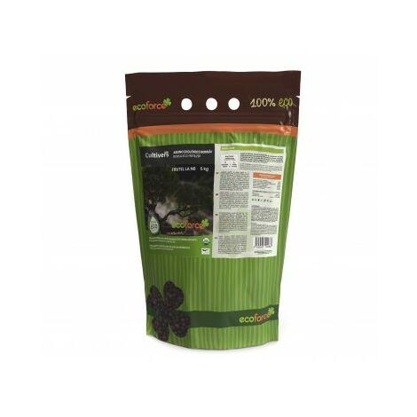 Abono Fertilizante especial para Bonsái de 5 kg. Origen 100% Orgánico y Natural, Granulado de Liberación Lenta y controlada