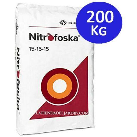 Abono fertilizante Nitrofoska Triple 15, 200 Kg