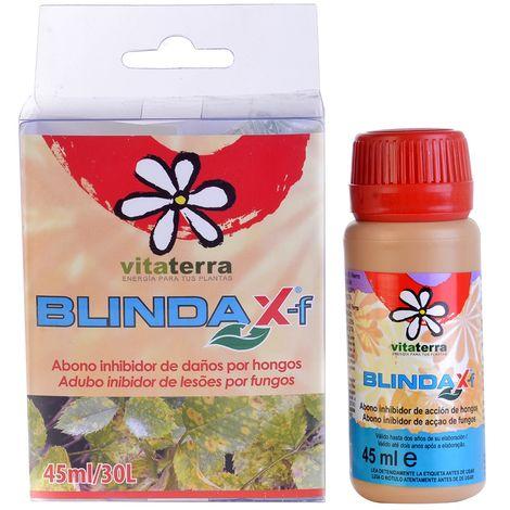 Abono Fungicida Blindax 45 Anti Hongos - Inhibidor de hongos foliares, 45 cc