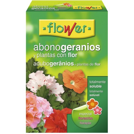 Abono Geranios Soluble 800 Gr - FLOWER - 10773