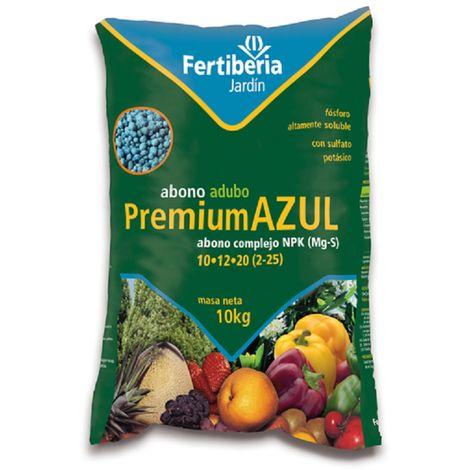 Abono granulado FERTIBERIA PREMIUM AZUL para todo tipo de plantas - 10 kg