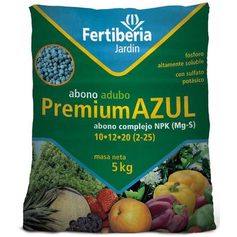 Abono granulado FERTIBERIA PREMIUM AZUL para todo tipo de plantas