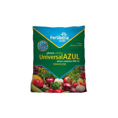 Abono granulado FERTIBERIA UNIVERSAL AZUL para todo tipo de plantas - 2,5Kg