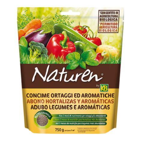 Abono hortalizas y aromáticas Nature KB 750 Gr