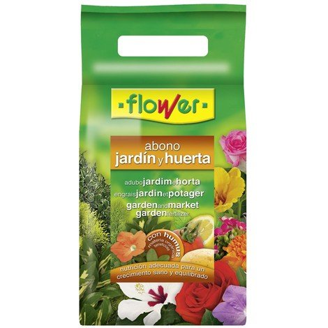 Abono Huerta Y Jardin 2 Kg - FLOWER - 10850