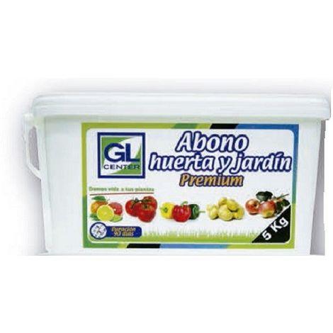 Abono liberacion controlada huerta y jardín Premium 5 Kg GL CENTER