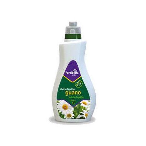 Abono líquido FERTIBERIA GUANO 1L potenciador de la fertilidad del suelo