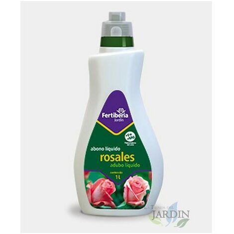 Abono liquido Rosales, arbustos de flor y plantas trepadoras, 1 litro